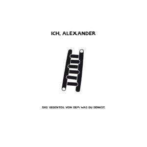 Cover300dpi_Ich, Alexander_DasGegenteil
